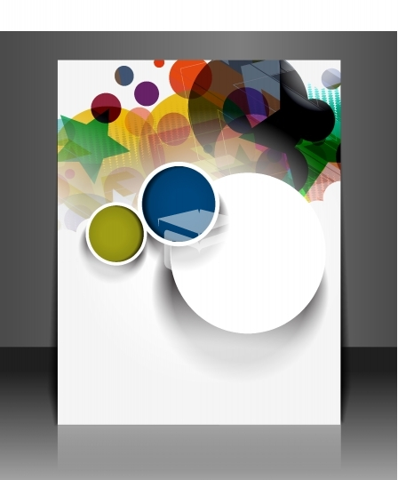 layout brochure template