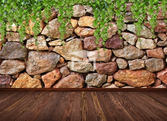 stone brick background