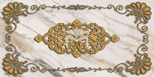 marble texture and gold design