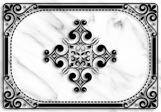 marble texture and black design