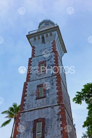 Tahiti, lighthouse of Pointe Venus