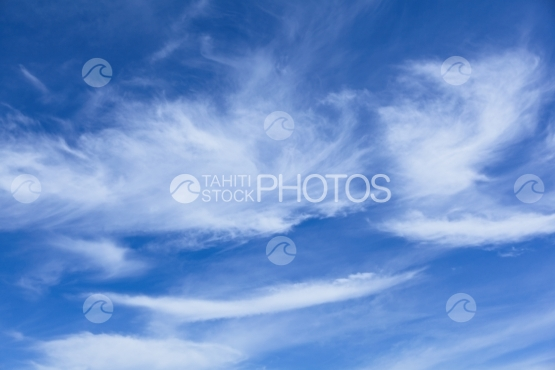 Clouds and sky of Polynesia