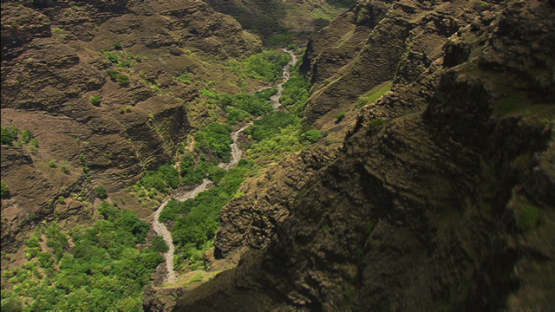 Aerial view of the Grand Canyon, Nuku Hiva