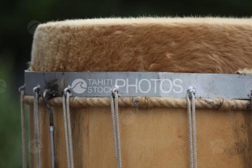 Polynesian Drum, Tambour  de Polynésie