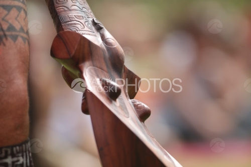 Head broker Of Marquesian Dancer, Casse tête d'un danseur Marquisien